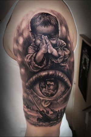 Tattoo by Dead Pony Tattoo Budapest