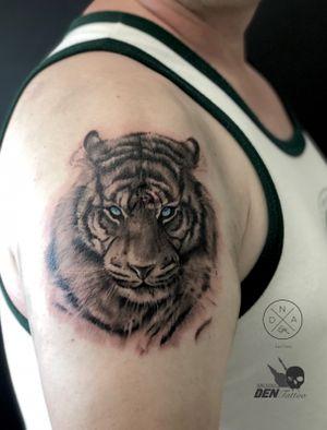 #tiger #tygrys #tattoogdansk #tatuaz