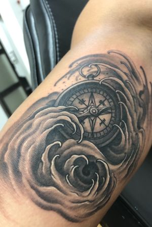 Compass/waves