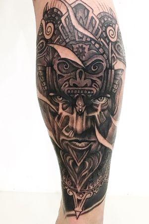 Custom tattoo bng done