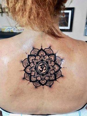 #mandalatattoo #dotworktattoos #tattoosforwomen #girlytattoos #lineworktattoo #MantraTattoo #Mantra