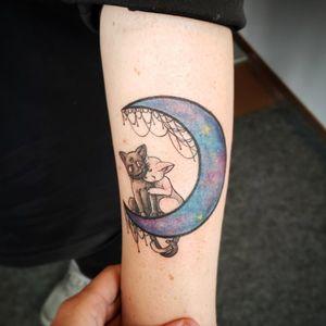 Luna and Artemis! Tattoo and design by me! #tattoo #tattooartist #tattoodesign #tattooflash #animetattoo #anime #manga #mangatattoo #cartoontattoo #neotraditionaltattoo #neotrad #neotraditional #sailormoon #sailormoontattoo #sailormooncrystal #luna #lunatattoo #moontattoo #cattattoo #colourtattoo #calgarytattooartist #yyctattooartist #tattooyyc #yyctattoo #piratesloottattoo #piratesloot #yyc