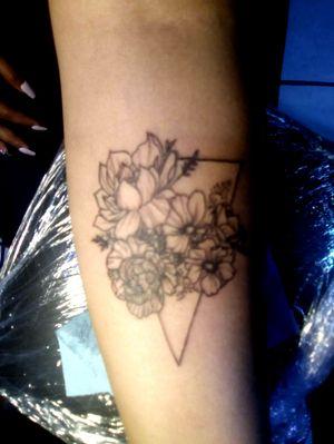 Flowers liner