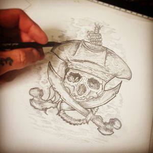 Upcoming jolly roger piece
