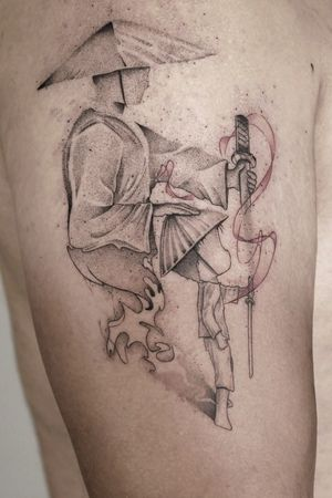 #tattoo #zen #samourai-