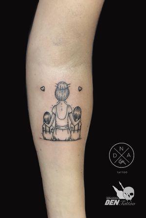 #smalltattoo #tattoogdansk #blackandgrey @voitkov_tattoo