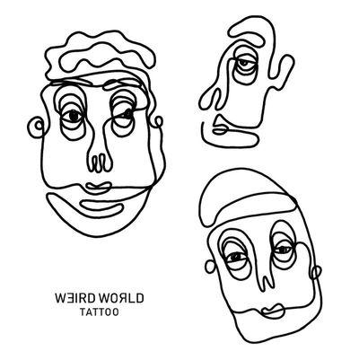 WANNA DO/ One Line Faces ———————————————— Get an appointment via instagram or weirdworld.tattoo@gmail.com ———————————————— #ignoranttattoo #ignorantstyle #ignorantstyletattoo #ineleganttattoo #ignorantstyleflash #darkartist #blacktattooart #weirdtattoo #weirdworldtattoo #berlintattoo #tattooberlin #berlin #tattrx #tttism #blackink #linework #contemporarytattoo #blackworkerssubmission #blacktattooart #darkartists #blacktattoo #btattooing #blackworkers #blackworktattoo