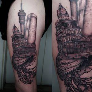 Shell cityscape