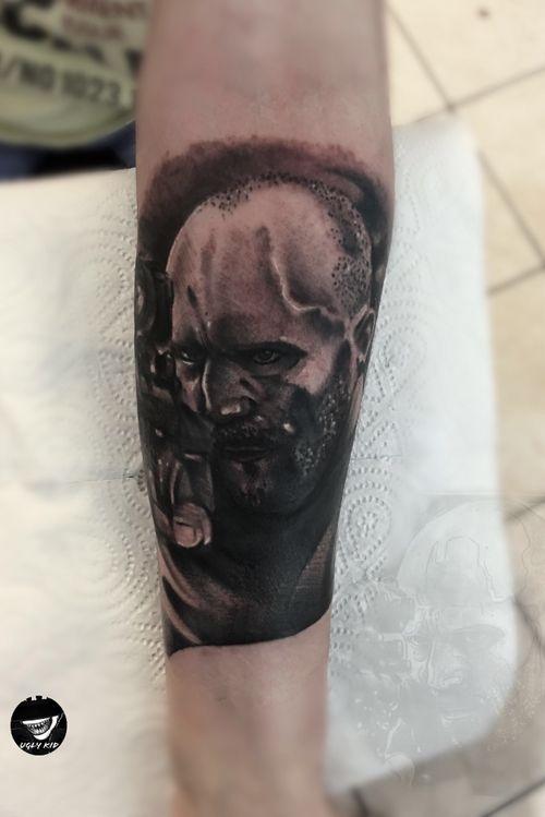 #realistic #blackandgrey #portrait #tattoo #tattoos #movietattoo #jasonstatham #poland #polska
