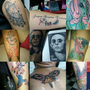 Tattoo by Damian dos Santos Tattoo