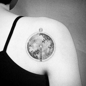 #landscape #clock #clocktattoo #surrealismtattoo #popsurrealism #tattooart #tattooberlin #tattooartmag #tattodo #tattoo #tattooideas #tattooinspiration #europetattoo #berlintattoo #hamburgtattoo #berlin #tattooartist #tatt #ttt #ttism #tattooing #creativetattoo #dotworktattoos #sketchtattoos #blackink #tattoos #berlin #designtattoo #design