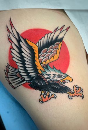 Classic eagle! #traditional #tradworker
