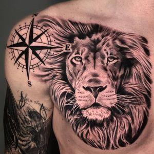 #realism #liontattoo #blackandgreytattoo #tattoo #blackandgrey #realistictattoo #sleevetattoo #besttattoos #toptattooartist #uktattoo #tattooart