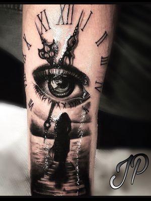 👨🏽🎨 follow me on insta @ Jpicaso97 • #jpicaso97 #unrealink #tattoos #blackandgrey #bishoprotary #bodyart #ink #art #michigan #grandrapids #michigantattooartist
