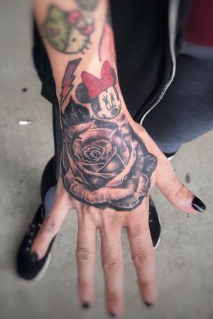 Carlee got this rose