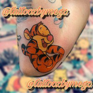 Disney #disneytattoo #winniethepooh #tigertattoo