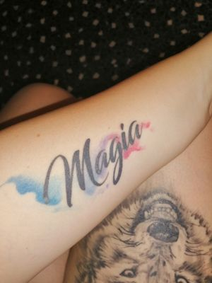 #sister #loveit #lovetattoo #matilda + #giada = #Magia