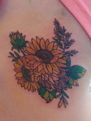 #sunflowers #colortattoo #plants