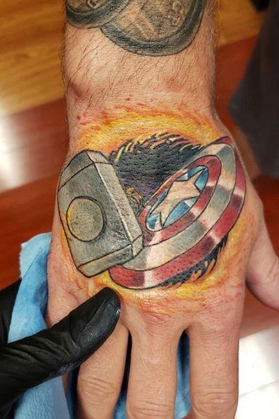Avengers #CaptainAmerica #Thor #DoctorStrange #EndGame