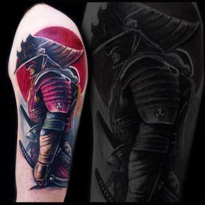 #warriortattoo #tattoorealistic #tattoo #colortattoo