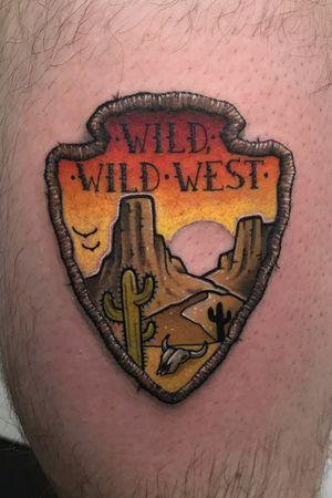 Wild wild west patch