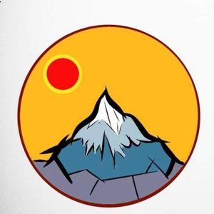 #mountaintattoo #sticker #myinkprints2019 #beginner #newbietattooartist #colortattoo