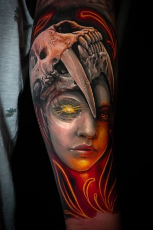 Done in Mexico tattoo Convention!
