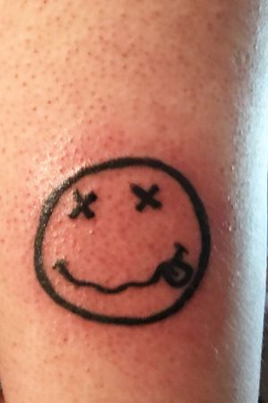 Nirvana tattoo.