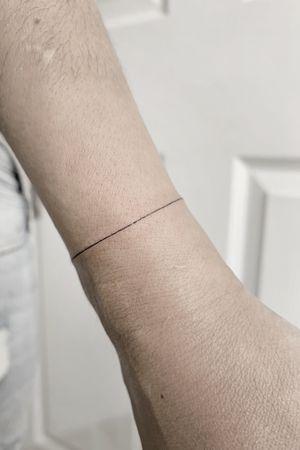#fineline bracelet