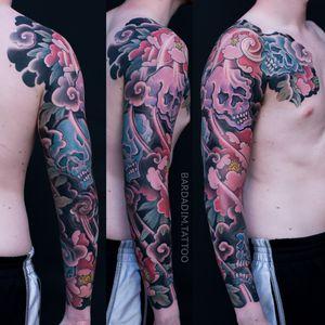 Japanese tattoo NYC. Bardadim tattoo.