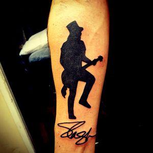 Slash silhouette