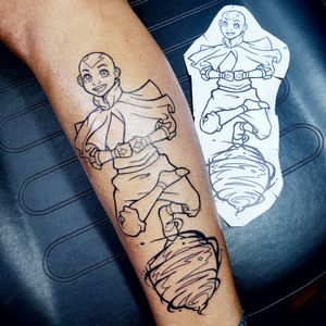 Aang in my style 🙌