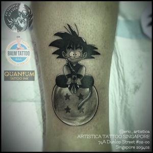 Son goku! Did this at Storm tattoo convention located at Luxembourg. Black and grey piece.🤘🏻 #tattoo #tattooed #tattoosocial #ilovetattoos #tattoolover #sgtattoo #singaporetattoo #dragonballz #blackandgreytattoo #luxembourg #legtattoo #thestormlux #europe #songoku #artistica #artisticasingapore #artisticatattoo #ericartistica #ericlohtattoos #balmtattoo #balmtattoosg #balmtattooteamsg #balmtattooartist #balmtattoosingapore #dragonbloodbutter #quantumtattooink #quantumtattooink_sea #criticaltattoosupply #nedzrotary #stencilanchored