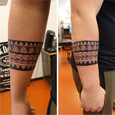 Polynesian bracelet #polynesiantattoo #bracelet