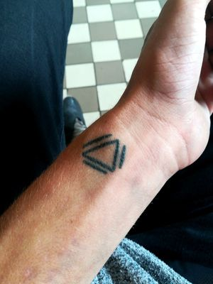 #triangletattoo  #triangle