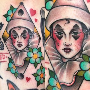Small pierrot from my wanna do book