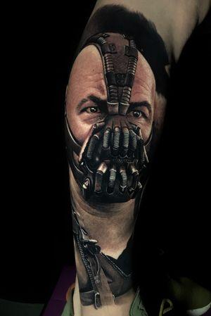 BANE @poppinowillinkya #realism #realistic #blackandgrey #bane #batman #poppino