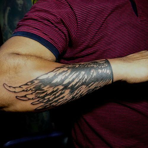 #getinkD #getinked #inkD #inked #wingstattoo #tattoodo #itattooyou