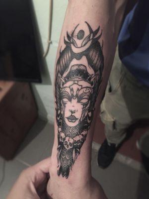 #tattoo #tattooart #tattoodesing #black #tatuaje #diseñotatuaje #dotwork #blacktattoo