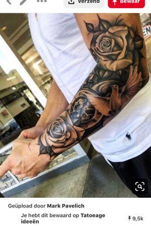 Half Sleeves, Black and White, Realism