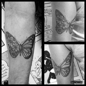 #340tattoo #butterflytattoo #bfftattoo #dotworktattoo #fetishtattattoobudapest