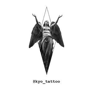 I find model for my portfolio !!! Don't afraid contact me:-) #kyotattoo #tattoomodel #portfolio #tattoo #tattoos #tattoodesign #berlin #tt #angel #angeltattoo