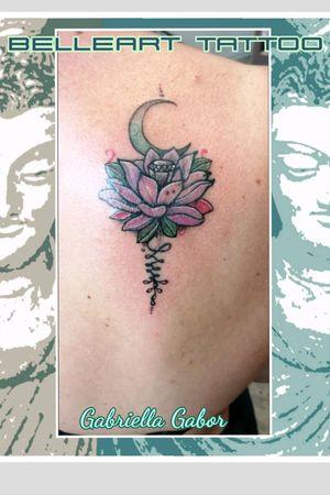#oriental #floral #color #lotus #tatuajeAradRomania