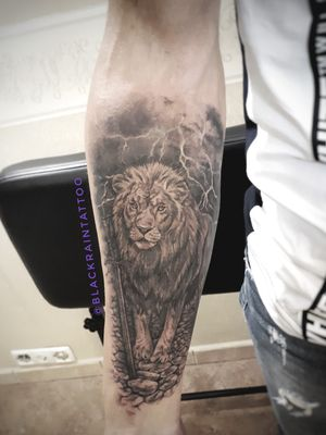 1 session 6 hours #lion #tattoorealistic #realism #tattooukraine #tattooodessa #blackandgreytattoo #odessa