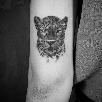 #blackAndWhite #realism #realistic #leopard #cat #ankara