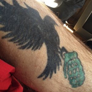 Hollywood Undead Dove and Grenade