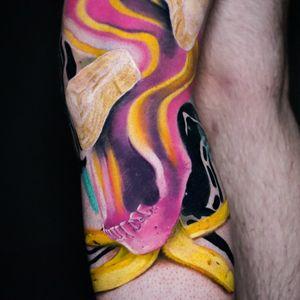 How do you imagine 4th dimension? ... А как вы представляете себе 4е измерение ? ______________________________ #tattoo #tattooideas #tattooist #tattooing #tattooed #tattooartist #tattooart #tattoolife #Inked #avantgarde #jaertattoo #sergeijaer #jaer #jaertattoo #tattoodesign #art #switzerland #switzerlandtattoo #milantattoo #italytattoo