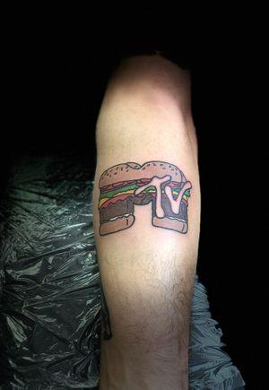 Cool MTV burger!!!