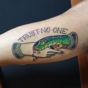 #tattoo #tattoolife #trustnoone