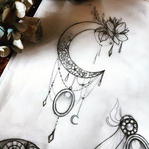 #moondesign #jeweltattoo #belfast #dublin #ireland